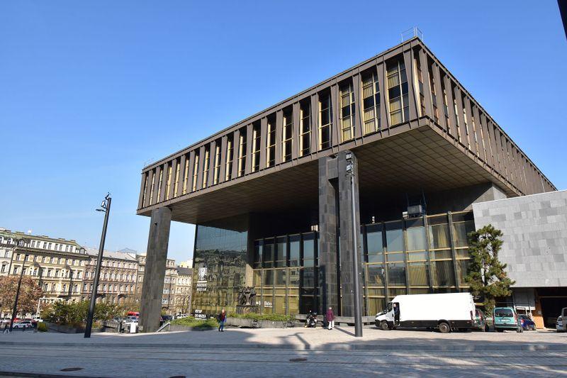 Former Federal Assembly building, photo: Ondřej Tomšů