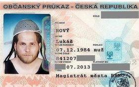 Carnet de identidad de Lukáš Nový, foto: Lukáš Nový