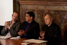 Guillaume Basset (à gauche), photo: Site officiel du Sénat tchèque