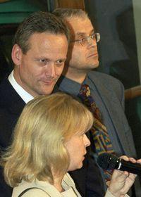 Hana Marvanová, Cyril Svoboda a Vladimír Spidla, foto: CTK