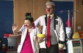 Развеять детских онкопациентов ходят в больницы клoуны, Фото: ЧТ