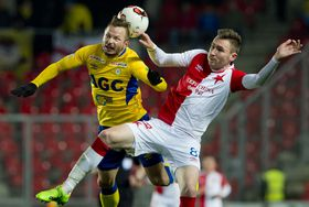 Slavia Prague - Teplice, photo: CTK