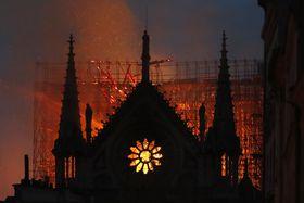 Notre-Dame en feu, photo: ČTK/AP/Thibault Camus