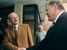Candidatos de la oposición, Ivan Gasparovic y Vladimír Meciar (de iquierda), foto: CTK