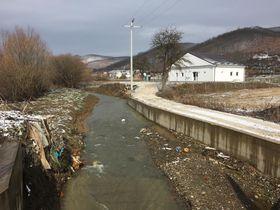 Waste water treatment plant at Badovac Lake, photo: Pavel Novák