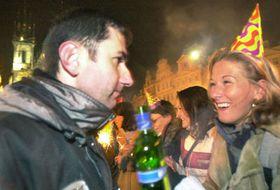 Fiestas de Noche Vieja en Praga, foto: CTK
