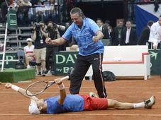 Tomáš Berdych et Jaroslav Navrátil, photo: CTK