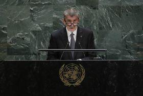 Andrej Babiš, photo: ČTK/AP/Frank Franklin II