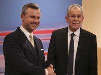 Norbert Hofer et Alexander Van der Bellen, photo: ČTK