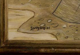 Картина фальсификатора Либора Прашила с подписью Яна Зрзавого (Фото: ЧТК)