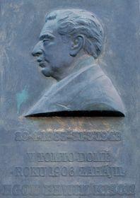 Gedenktafel für Egon Erwin Kisch in der Herrengasse (Foto: Ejw0851, Public Domain)