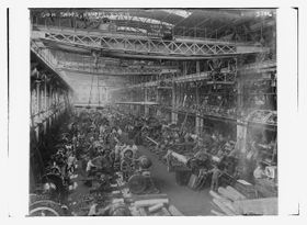 L'usine Krupp, photo: Bain News Service/Library of Congress, public domain