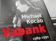 Photo: repro Michael Kocáb, 'Vabank' / Universum