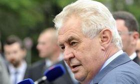 Miloš Zeman, foto: ČT24