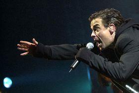 Robbie Williams, photo: CTK