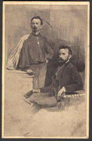 Miroslav Tyrš et Jindřich Fügner