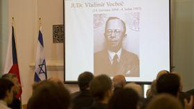Vladimír Vochoč a reçu lundi à Prague à titre posthume la distinction de 'Juste parmi les Nations', photo: ČTK, photo: ČTK