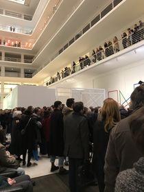 На открытии нового сезона Национальной галереи в Ярмарочном дворце, фото: Ольга Васинкевич