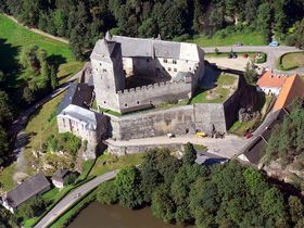El castillo de Kost, foto: Wikimedia Commons / PD