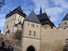 Замок Карлштейн (Фото: Милош Турек, Чешское радио - Радио Прага)
