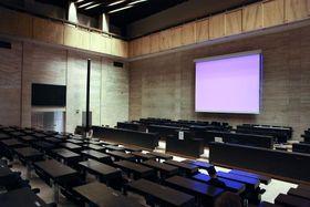 Hlavní sál vbudově Federálního shromáždění, foto: Jan Langer, ČT24
