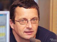 Michal Viewegh, photo: Alžběta Švarcová, ČRo