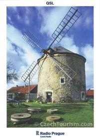 Molino de viento en Rudice, Moravia del Sur, foto: CzechTourism