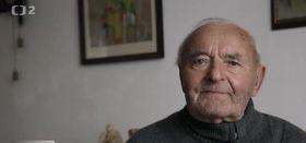 Мирослав Дедич, снимок из документального фильма Чешского телевидения «Спрятанные письма»
