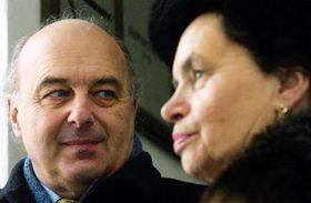 Ivo Svoboda e Barbora Snopková, foto: CTK