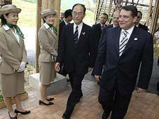 Le Premier ministre Jiri Paroubek à l'EXPO, photo: CTK