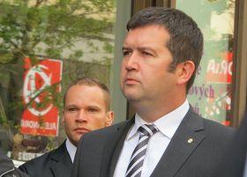 Спикер Палаты депутатов Ян Гамачек (Фото: Кристина Макова, Чешское радио - Радио Прага)
