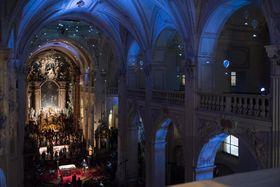 Nuit des églises, 2015, photo: Petr Neubert
