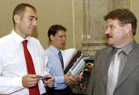Слева: Мартин Ягн, Станислав Гросс и Зденек Шкромах (Фото: ЧТК)