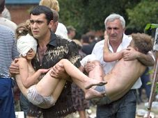L'attaque terroriste à Beslan, photo: CTK