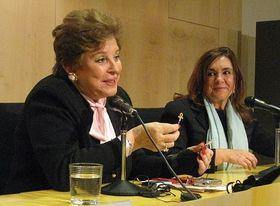 Sylvia Puentes y Marisa Oropesa