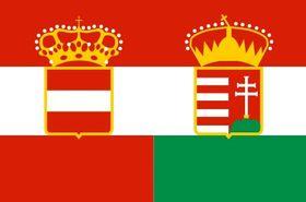 Флаг Австо-Венгрии