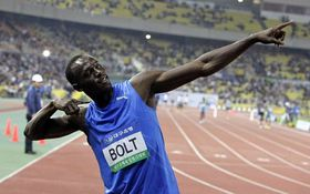 Usain Bolt, photo: CTK