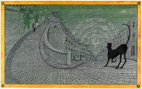 Ilustrace ze Tří zlatých klíčů, foto: archiv Petra Síse