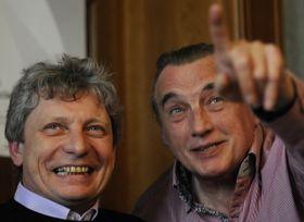 Jiří Pavlica (vlevo) aMiloš Krejčí, foto: ČTK