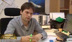 Martin Červený, photo: Czech Television
