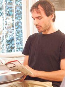 Constantin Göttfert (Foto: Offizielle Facebook-Seite des Prager Literaturhauses)