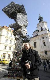 Escultura de Llaves, foto: ČTK