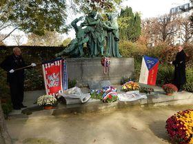 Le monument au Père-Lachaise, photo: Archives de MZV