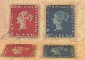 Одни из самых ценных марок - «Голубой Маврикий» и «Розовый Маврикий».Фото: ЧТ