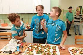 Projektové dny na školách, foto: Archiv projektu Pestrá strava bez zbytečné chemie