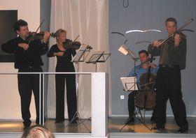 El Cuarteto Skampa (Foto: Autora)