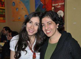 Laurelena Rodríguez y Katerina Bohac