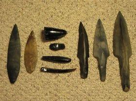 Mayské obsidiánové nože, foto: YouTube