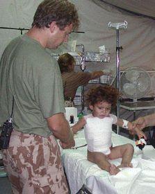Czech field hospital in Iraq, photo: CTK