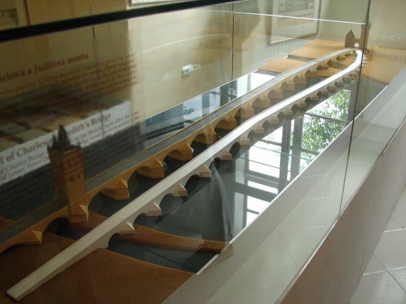 La maqueta del Puente de Carlos y de Judith, foto: Štěpánka Budková